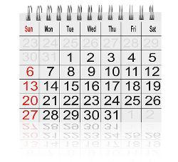 Balance Transfer Calendar