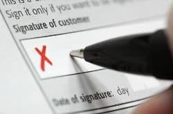 Balance Transfer Rules Signature